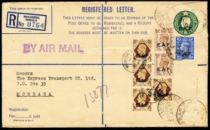 EAF registered envelope type II