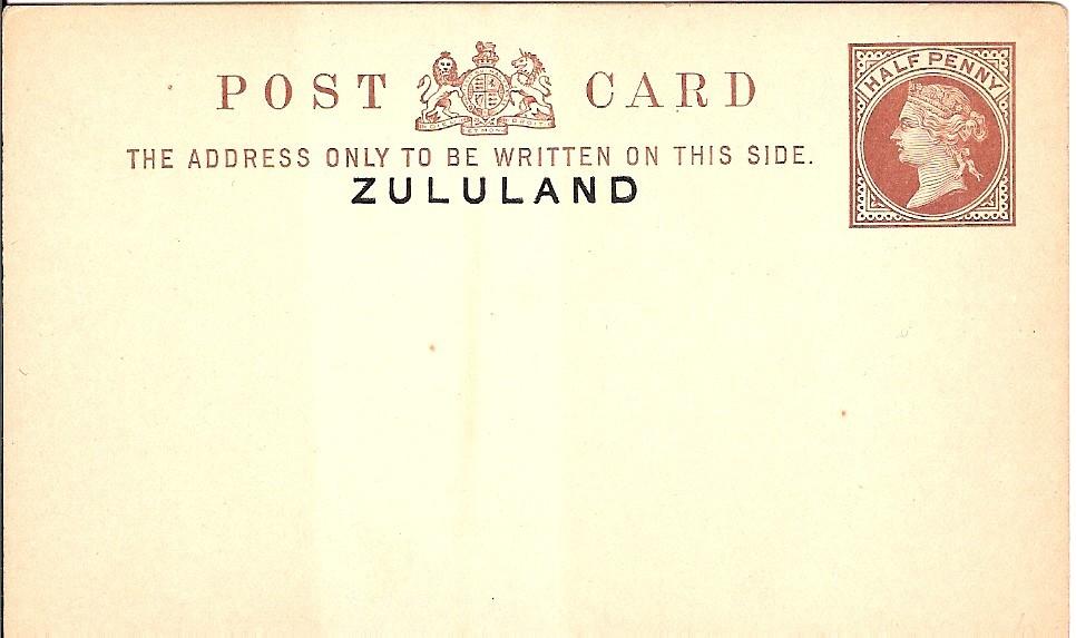 Zululand card halfd