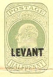 Levant (UK) Edward 7 wrapper