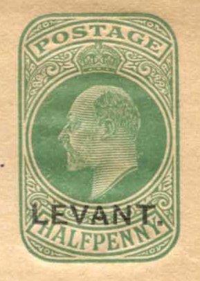 Levant (UK) Edward 7 wrapper local