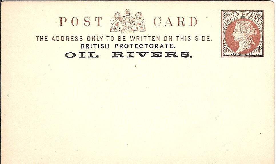 Oil Rivers card halfd