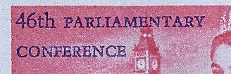 Interparliamentary Union airletter (detail)