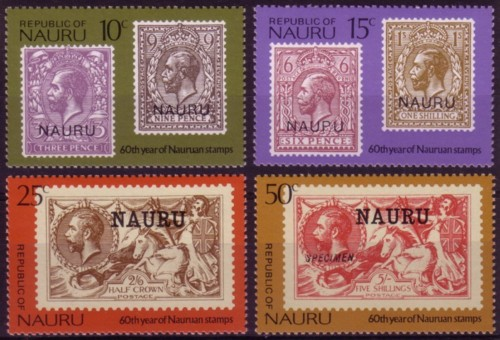 Nauru cent set
