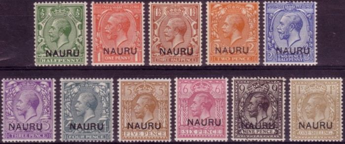Nauru first set 200
