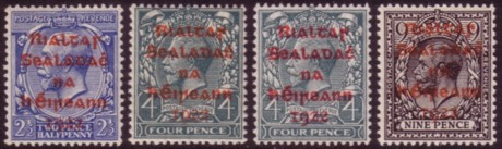 Ireland first red overprints 200