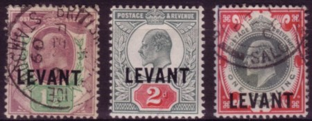 Levant sterling Ed7 chalky 200