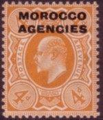 Morocco Stg Ed7 4d orange 200