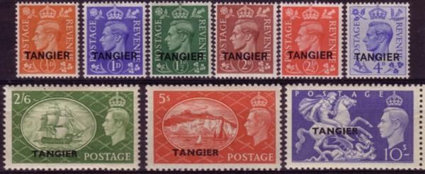 Tangier G6 1951 set 200