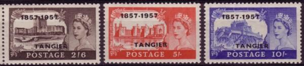 Tangier QE Centenary castles 200