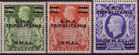 Tripolitania BMA high values 200