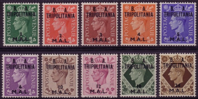 Tripolitania BA low values 200