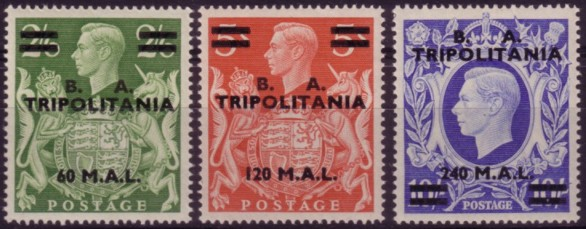 Tripolitania BA high values 200
