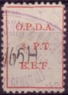 Palestine local printed OPDA 200