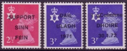 IRA 3 propaganda overprints 200