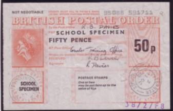 School specimen PO 50p 72