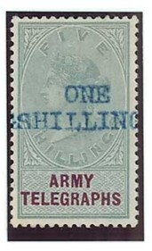 Army telegraphs 1s provisional 200