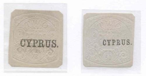 Cyprus embossed revenues 200