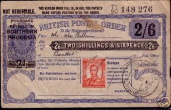 Southern Rhodesia postage due 300