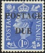 GB G6 postage due 200