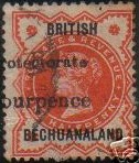 Bechuanaland protectorate misplaced 96