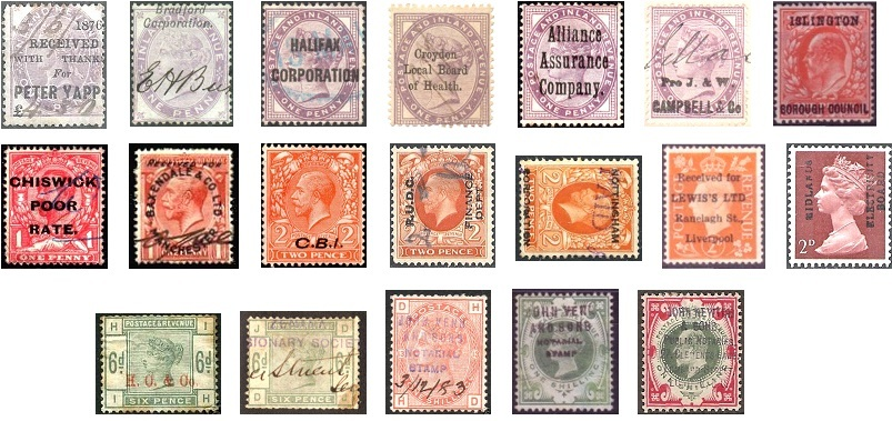 Commercial overprints collage